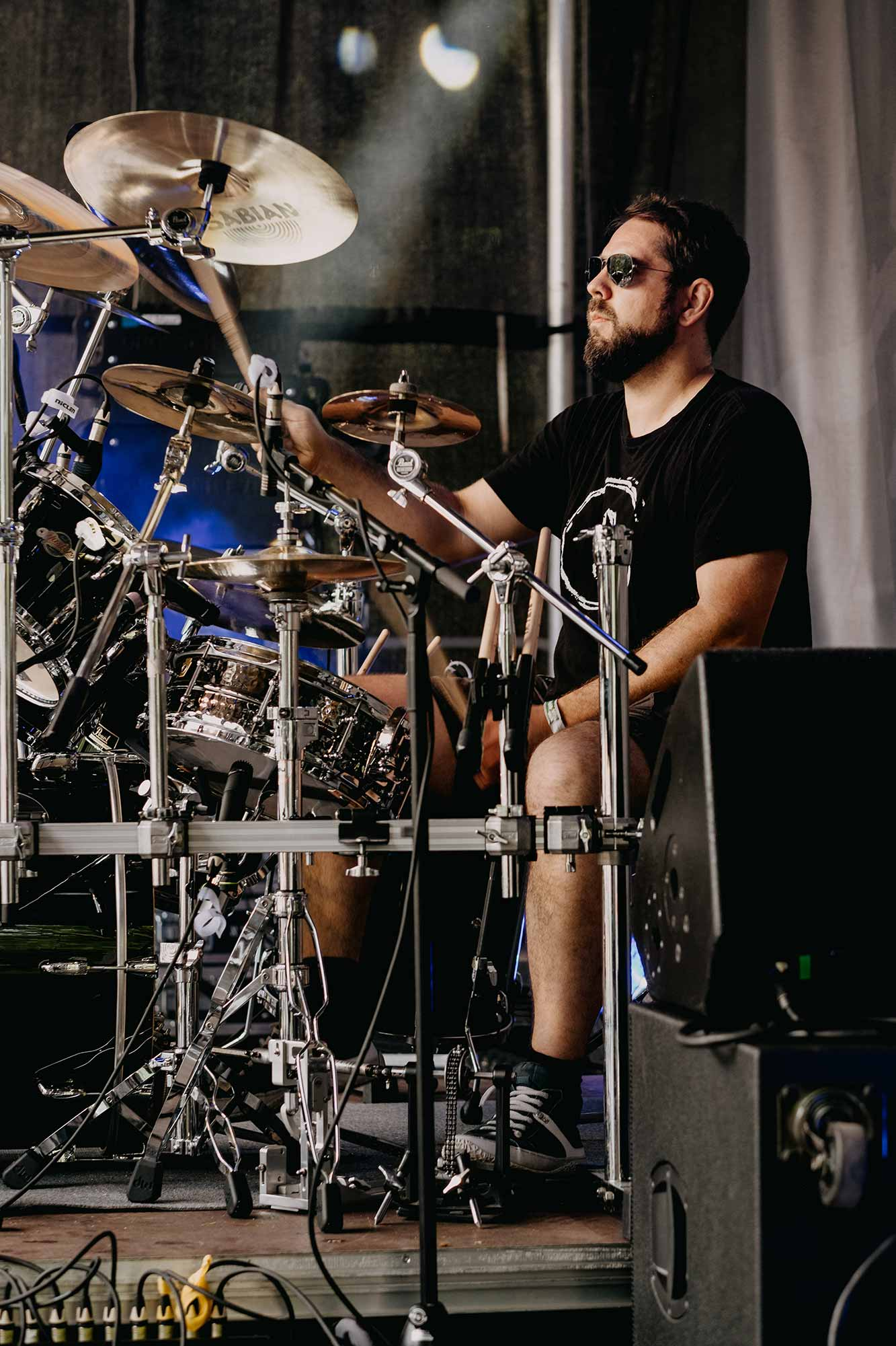 Sternzeichen Zorro - Sebastian Bork, Schlagzeug (Foto Jens Hohmuth)